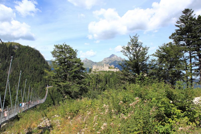 Blick auf Ehrenberg