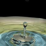 Wassertopfenfotografie Kegel