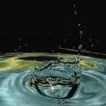 Wassertropfenfotografie Krönchen