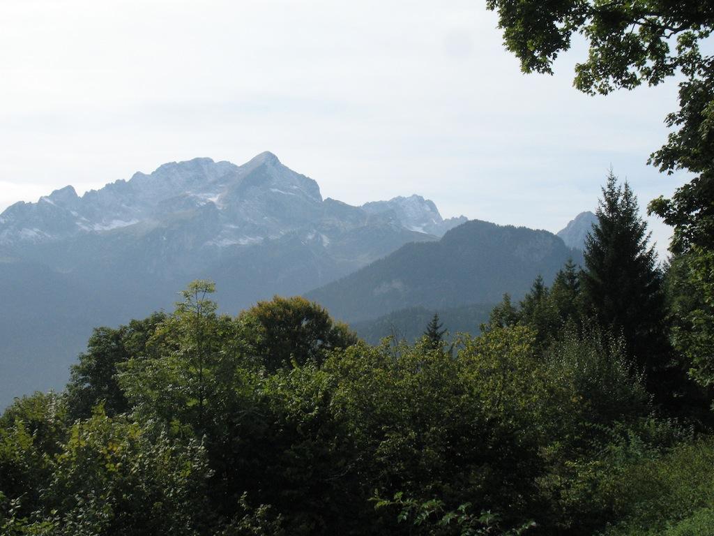 Panoramablick vom Berggasthof Eckbauer