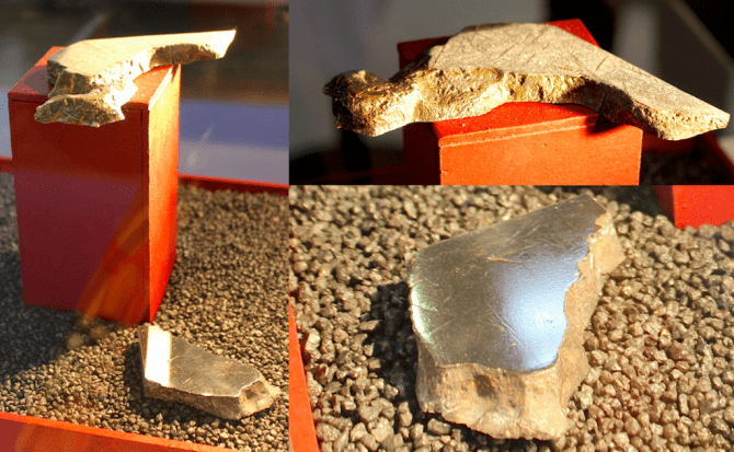Meteorit Unter-Mässing