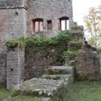 Blick vom Innenhof zum Torturm