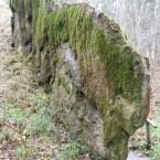 Wachsender Felsen Usterling, Steinerne Rinne