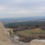 Aussicht von der Burgruine