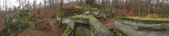 Burgruine Rotenhan - Panorama