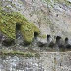 Torfelsen, Balkenlagerreihe Detail