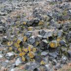 Basaltsäulen frontal
