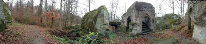 Burgruine Rotenhan - Panorama 2