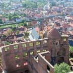 Burg Wertheim, Rittersaal und Johannsturm