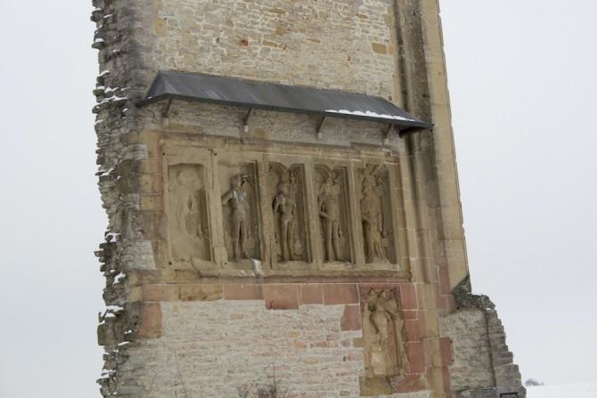 Anhäuser Mauer Detail