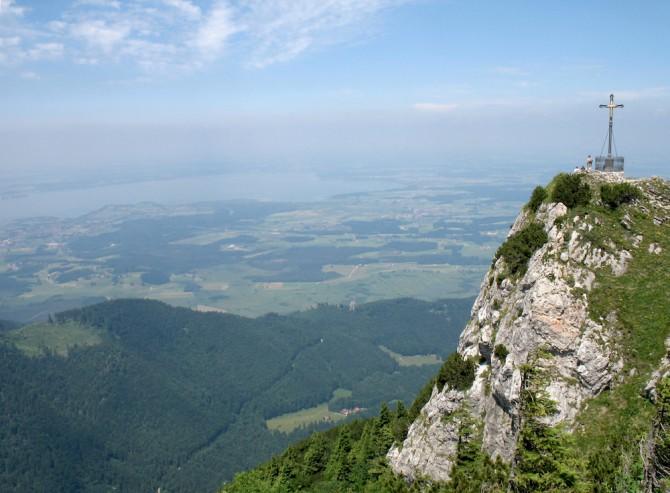 Hochfelln Gipfelkreuz