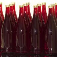 Flaschen abgefüllt