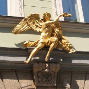 Prager Hauszeichen Zum Goldenen Engel