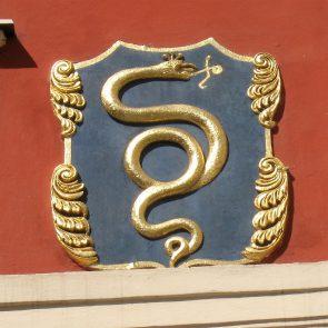 Prager Hauszeichen Zur Goldenen Schlange