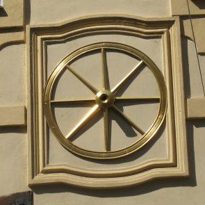 Prager Hauszeichen Zum Goldenen Rad