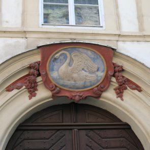Prager Hauszeichen Zum Weißen Schwan