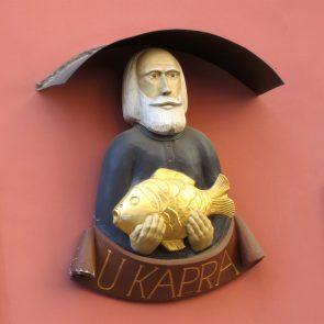 Prager Hauszeichen Zum Karpfen