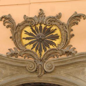 Prager Hauszeichen Zur Schwarzen Sonne
