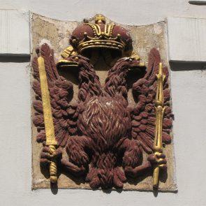 Prager Hauszeichen Zum Roten Adler