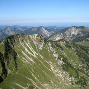 Rotwand, Blick zum Lempersberg