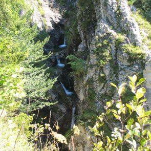 Rotwand, Abstieg - Pfanngraben
