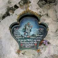 Aufstieg zur Kapelle Riederstein