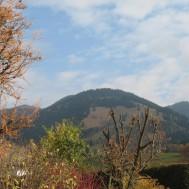Kurz nach dem Start in Unterammergau, Herbststimmung