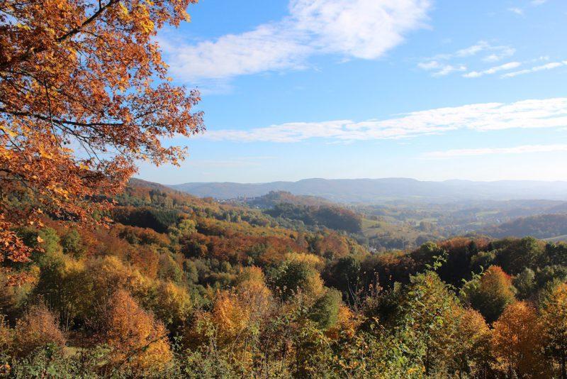 Schoene Aussicht, Blick auf Lindenfels