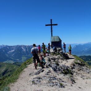Geigelstein Gipfelkreuz