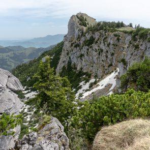 Blick vom Bockstein zum Breitenstein