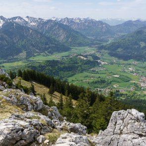 Bockstein Aussicht vom Gipfel
