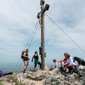Bockstein Gipfelkreuz