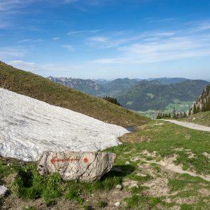 Aufstieg zum Breitenstein