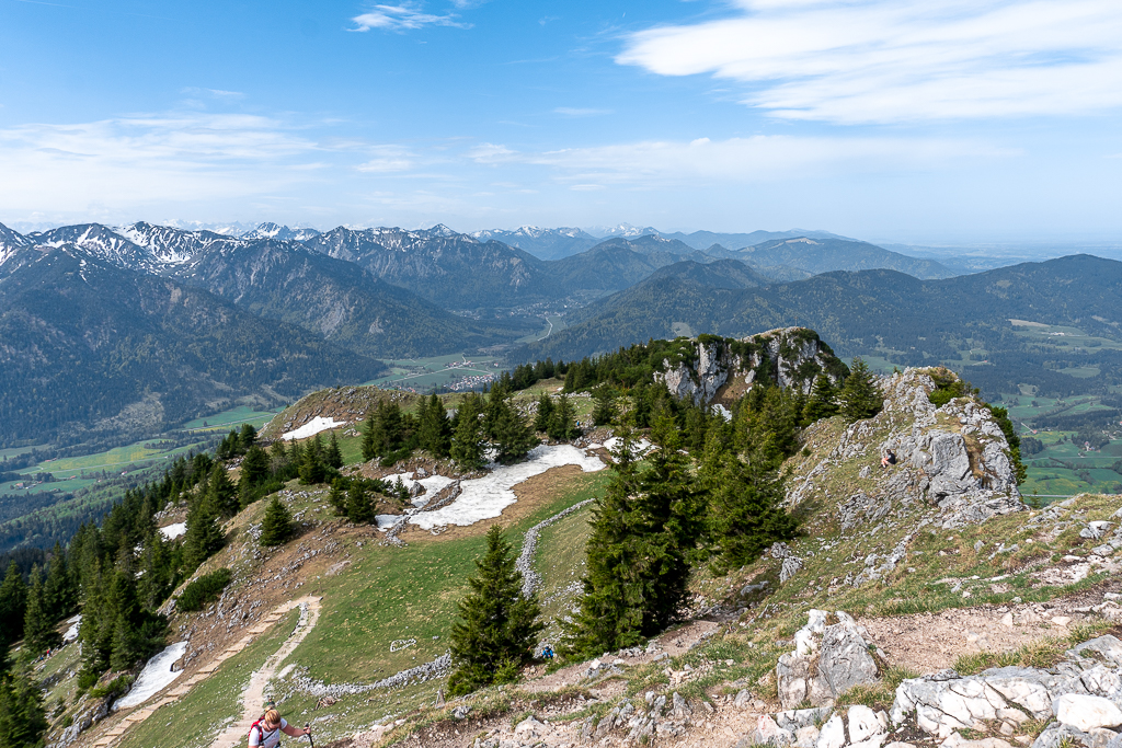 Breitenstein, am Gipfel
