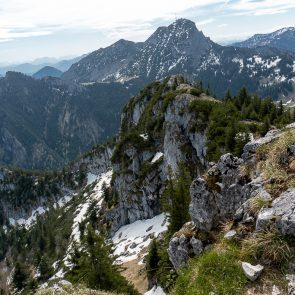 Blick vom Breitenstein-Gipfel
