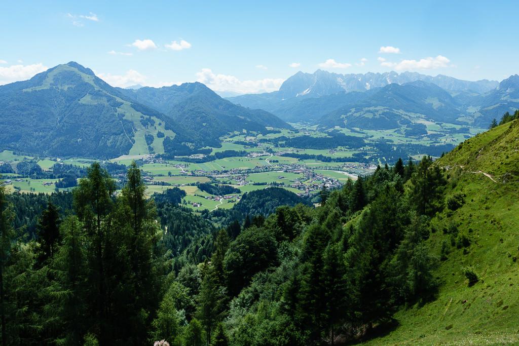 Ausblick Taubenseehütte