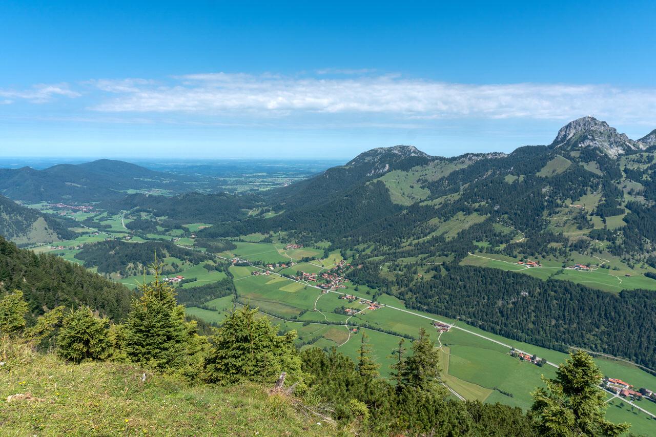 Aussicht Seebergkopf