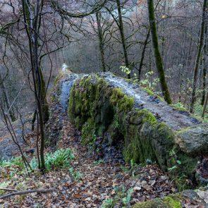 Steinerne Rinne beim Gütersteiner Wasserfall