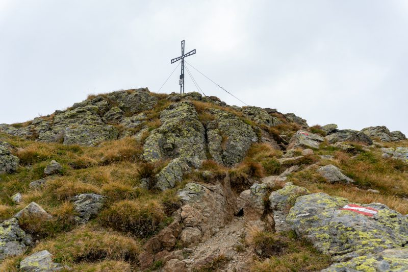 Schafsiedel Gipfelkreuz
