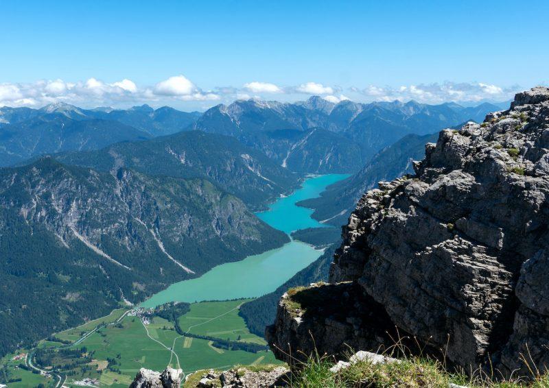 Blick vom Thaneller auf Plansee und Heiterwanger See